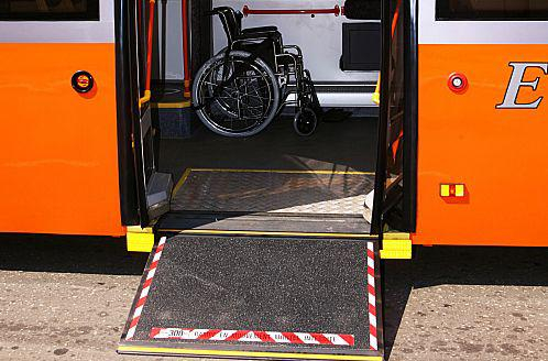 Аппарель автобуса ЛиАЗ-6213