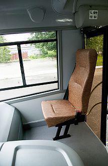 Салон автобуса ПАЗ-3204