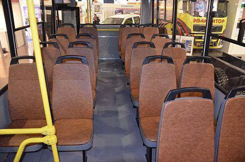 Салон автобуса ПАЗ-3203