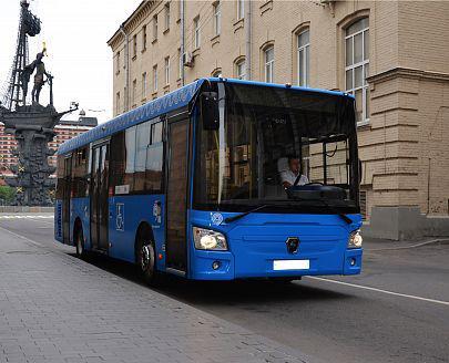 Автобус ЛИАЗ-4292, вид спереди