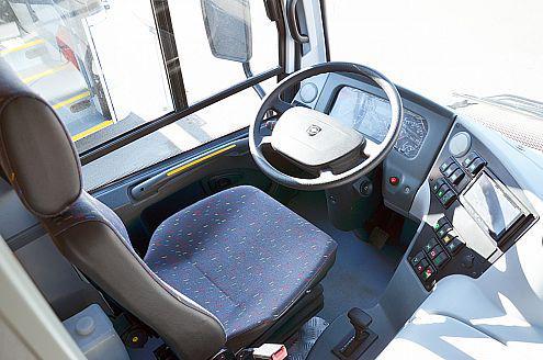 Автобус Вектор 8.8 - Место водителя