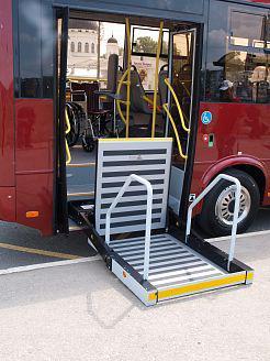 Автобус Вектор 8.8 - подъемник