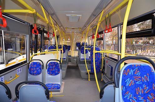 Салон автобуса ЛиАЗ-5292 рестайлинг