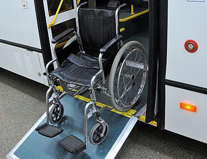 Дверная аппарель автобуса ЛиАЗ-5293