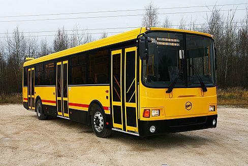 Автобус ЛиАЗ-5256 городской, вид спереди