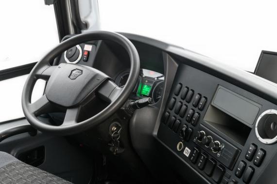 Место водителя автобуса ВЕКТОР NEXT 7.1