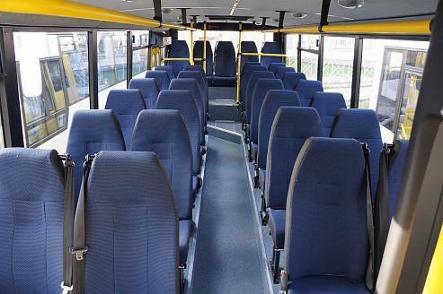 Автобус КАВЗ-4235 АВРОРА - Салон
