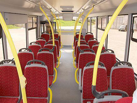 Салон автобуса Вектор 8.8