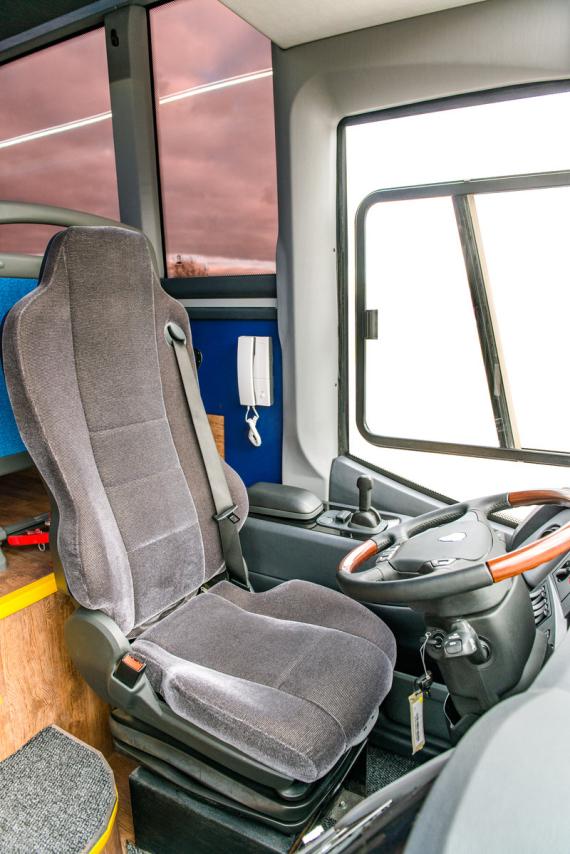 Автобус «КРУИЗ» – Место водителя