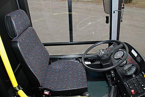 Автобус КАВЗ-4235/4238 школьный, место водителя