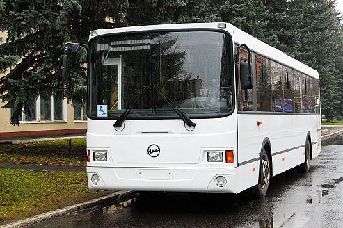 Автобус ЛиАЗ-5293, вид спереди