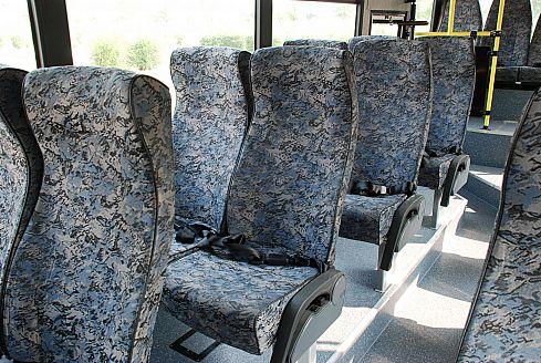 Новый автобус КАВЗ-4238 – Салон