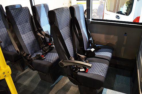 Автобус ВЕКТОР NEXT школьный, пассажирские сиденья